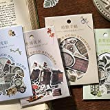BLOUR 40 Stück/Pack Serie Mittelalterliche GedichteBriefpapier Aufkleber Scrapbooking DIY...