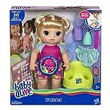 Hasbro Baby Alive - Töpfchentanz (Blondhaarig), Funktionspuppe - kann sprechen, tanzen und auf das...