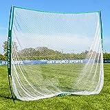 FORB Tragbares Golfnetz 2,13m x 2,13m  Garten Golfnetz- Tragetasche Wird enthalten