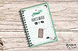Mein Adressbuch Telefonbuch Kalender grün gepunktet DIN A6