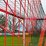 DONET Jugend - Fuballtornetz 5,15 x 2,05 m Tiefe Oben 0,80 / unten 1,50 m, zweifarbig, PP 4 mm ,...