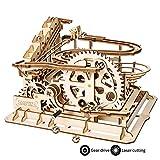 ROKR Holzpuzzle Bausatz 3D Puzzle Holzbausatz Mechanische Modell mit Balls Brainteaser für Kinder,...