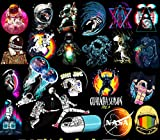 Space Boy Aufkleber für Laptop, Auto, Motorrad, Fahrrad, Gepäck, Graffiti, Skateboard,...
