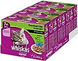 Whiskas 7 + Katzenfutter  Gemischte Auswahl in Sauce  Hochwertiges Nassfutter fr Katzen ab 7 Jahren...