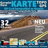 Schweden Karte Outdoor Topo microSD. Topografische GPS Freizeitkarte für Fahrrad Wandern Touren...