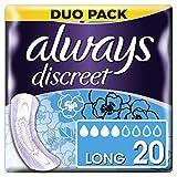 Always Discreet Einlagen lang für Blasenschwäche und Inkontinenz x20