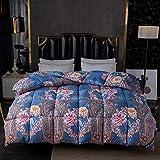Almondcy Aqua-Textil Soft Touch 4 Jahreszeiten bettdecke,Duvet 95 weiße Gänsedaunen Winter...