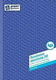 Avery Zweckform 741 Reisekostenabrechnung, DIN A4, für monatliche Abrechnung, 50 Blatt, weiß 5...