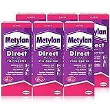 Henkel Metylan Direct Tapetenkleister für Vlies-Tapeten 200g ( 6er Pack )