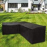 camouflage net L Form Gartenmöbel Abdeckung, Heavy Duty Garten Möbel Schutzhülle, L Sofa...