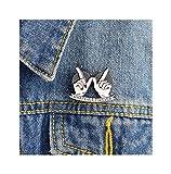 Liebe Abzeichen Pin-Hexe Kristallkugel magische Katze Kaugummi Metall Emaille Brosche nette modische...