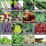 Mischung/Mix/Set'Gartengemüse' 16 x Samen (10-50 Stück) nicht alltäglicher Gemüsesorten aus...