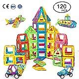 Condis Magnetische Bausteine 120 Teile Magnetspielzeug Magnete Kinder Magnetbausteine Magnet...