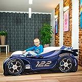 Nobiko Autobett Kinderbett Bett Schlafzimmer Kindermöbel Spielbett 140 X 70 cm 160 x 80 cm 180 X 80...