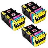 JIMIGO 27 XL 27XL Druckerpatronen Ersatz für Epson 27 Patronen Kompatibel mit Epson WorkForce...