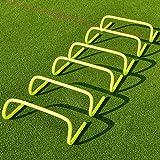 FORZA Speed/Agility Training Hürden (6er-Set) – Multi-Sport Trainingshilfe - wählen Sie Ihre...