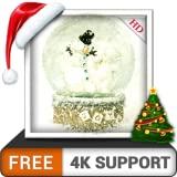 3758/5000 Schneekugel HD kostenlos dekorieren Sie Ihren Bildschirm mit schönen Weihnachten...